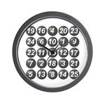 numbers game 1 Wall Clock