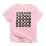 numbers game 1 Infant T-Shirt