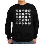 numbers game 1 Sweatshirt (dark)