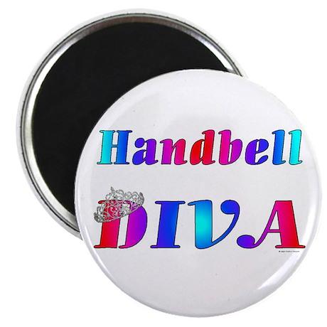 """Handbell Diva 2.25"""" Magnet (100 pack)"""