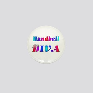 Handbell Diva Mini Button
