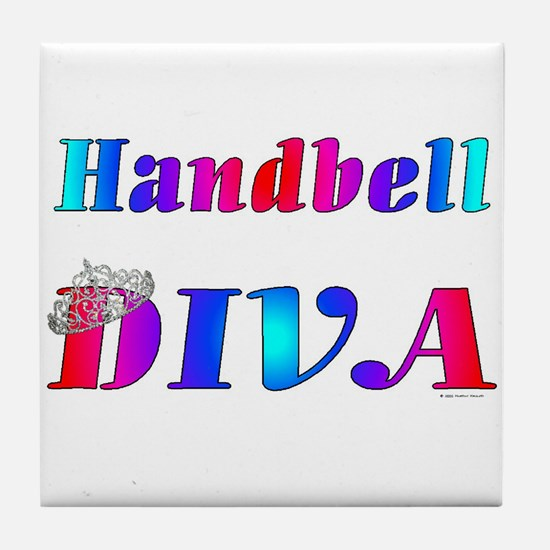 Handbell Diva Tile Coaster