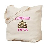 FLOWER GIRL DIVA Tote Bag