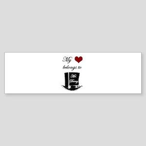 Mr. Darcy Heart Sticker (Bumper)