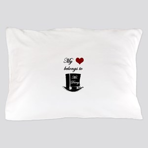 Mr. Darcy Heart Pillow Case