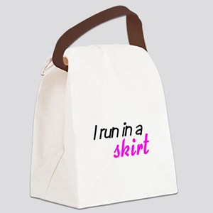 skirtrunning Canvas Lunch Bag
