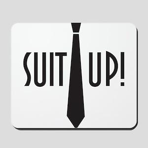 Suit Up! Mousepad