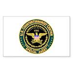 CTC U.S. CounterTerrorist Rectangle Sticker