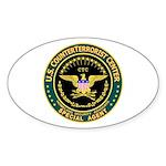 CTC U.S. CounterTerrorist Oval Sticker