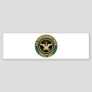 CTC U.S. CounterTerrorist Bumper Sticker