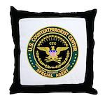 CTC U.S. CounterTerrorist Throw Pillow