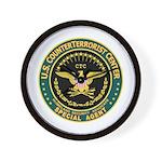 CTC U.S. CounterTerrorist Wall Clock