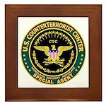 CTC U.S. CounterTerrorist Framed Tile