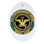 CTC U.S. CounterTerrorist Oval Ornament