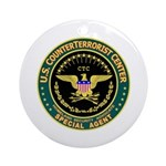 CTC U.S. CounterTerrorist Ornament (Round)