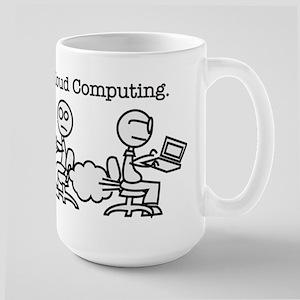Cloud Computing Large Mug