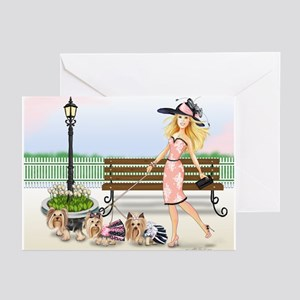 A day at the Derby Greeting Cards (Pk of 10)