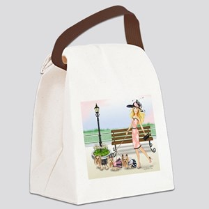 A day at the Derby Canvas Lunch Bag