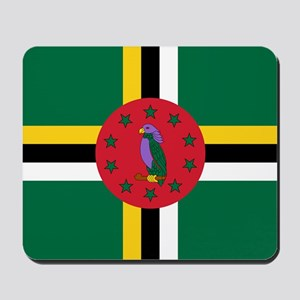 Flag of Dominica Mousepad