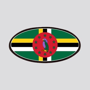 Flag of Dominica Patches