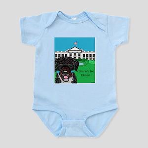 I barack for Obama! Infant Bodysuit