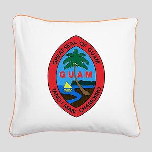Guam Canvas Pillow