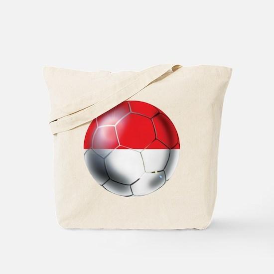 Monaco Soccer Ball Tote Bag