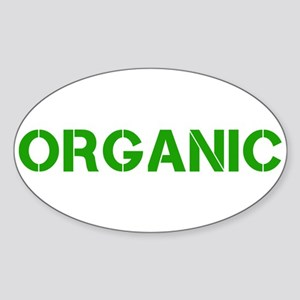 ORGANIC Sticker (Oval)