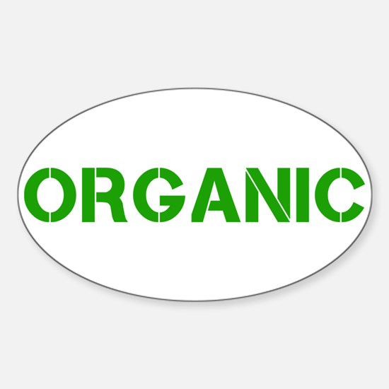 ORGANIC Sticker (Oval)