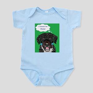 I barack for Obama 2012! Infant Bodysuit