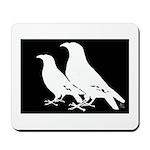 White Crows Mousepad