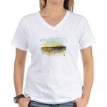 The Woods III Women's V-Neck T-Shirt