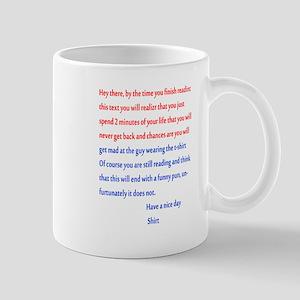 Confusing text Mug