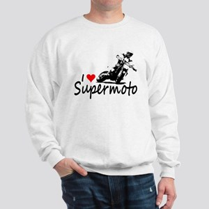 I Heart Supermoto Sweatshirt