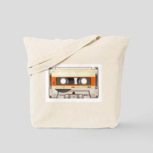 Retro Vintage Style Cassette Tape Tote Bag