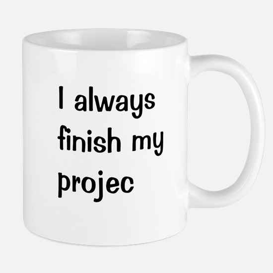 Funny Project Manager Mug