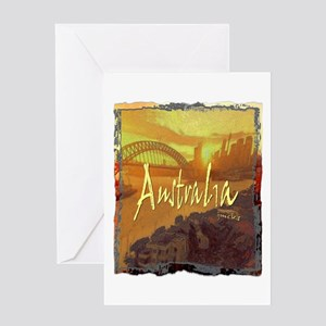 australia art illustration Greeting Card