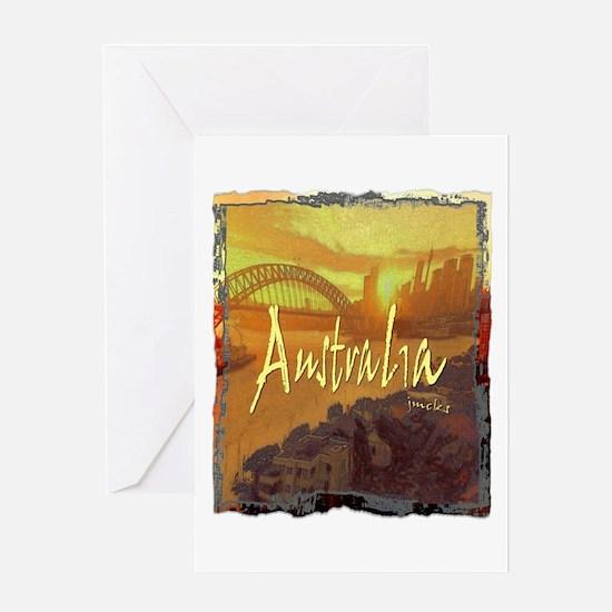 australia art illustration Greeting Card