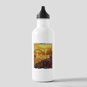 australia art illustration Stainless Water Bottle