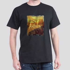australia art illustration Dark T-Shirt