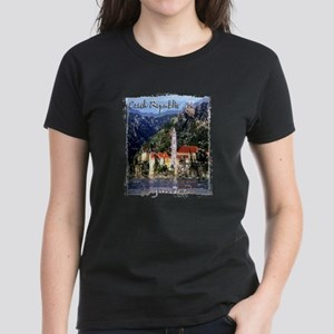 czech reublic art illustration Women's Dark T-Shir