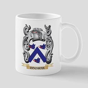 Cochran Family Crest - Cochran Coat of Arms Mugs