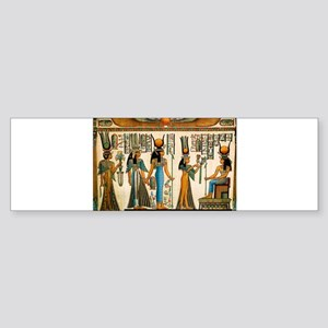 Ancient Egyptian Wall Tapestry Sticker (Bumper)