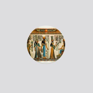 Ancient Egyptian Wall Tapestry Mini Button