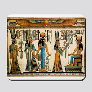 Ancient Egyptian Wall Tapestry Mousepad