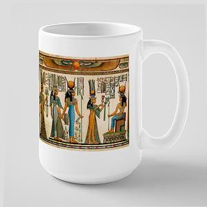 Ancient Egyptian Wall Tapestry Large Mug