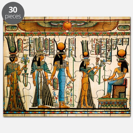 Ancient Egyptian Wall Tapestry Puzzle