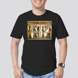 Ancient Egyptian Wall Tapestry Men's Fitted T-Shir