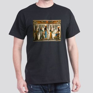 Ancient Egyptian Wall Tapestry Dark T-Shirt