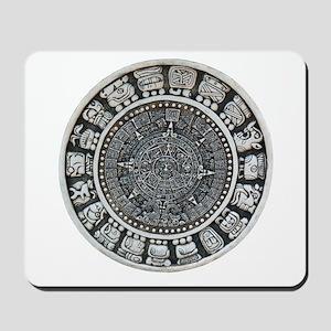 Aztec Mayan Sun Dial Mousepad